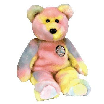 B.B. Birthday Bear - Ty Beanie Buddies