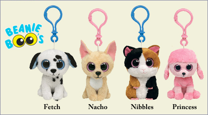 Beanie Boo Key Clips are shipping!